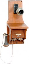 Western Electric Common Battery Wall Telephone